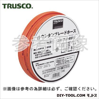 トラスコ αウレタンブレードホース ドラム巻 6.5×10mm 100m (TUB65100) TRUSCO エアーホース 常圧用エアホース
