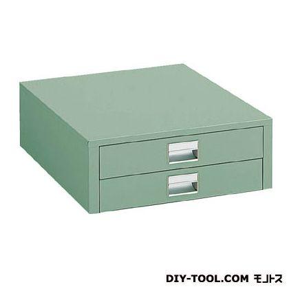 トラスコ UDK型作業台用引出し薄型 グリーン UDC-002
