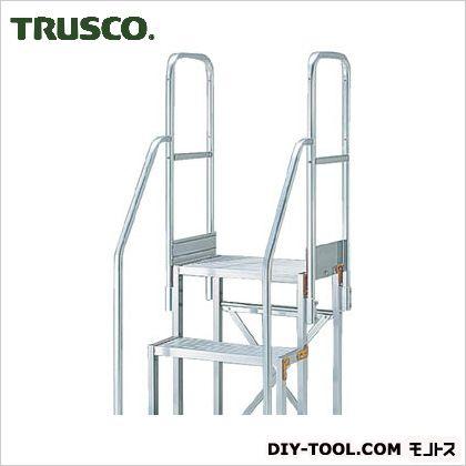 ラウンド  SHOP  FACTORY 作業台用階段両手すり TSF-369・4612用 ONLINE トラスコ  TSF-TE4:DIY-DIY・工具