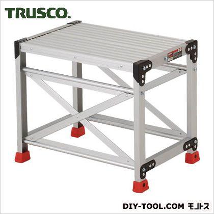 トラスコ(TRUSCO) 作業用踏台アルミ製・高強度タイプ1段 637 x 478 x 148 mm TSF-165