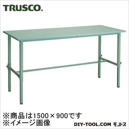 トラスコ 軽量高さ調整作業台鉄天板 1500×900 SAEM1509