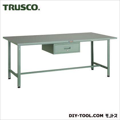 トラスコ(TRUSCO) SAE型作業台1800X900XH7401段引出付 SAE-1809F1