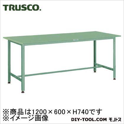 トラスコ AE型作業台スチール天板 1200×600×740  (SAE1260) 作業台 ステンレス作業台 作業 万能作業台