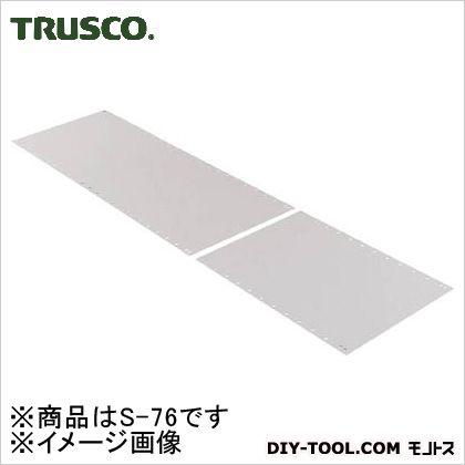 トラスコ 軽量棚部材背板高さ2100×1800mm用  S76