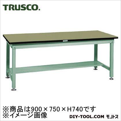 トラスコ(TRUSCO) RHW型作業台900X750XH740緑 GN RHW-0975