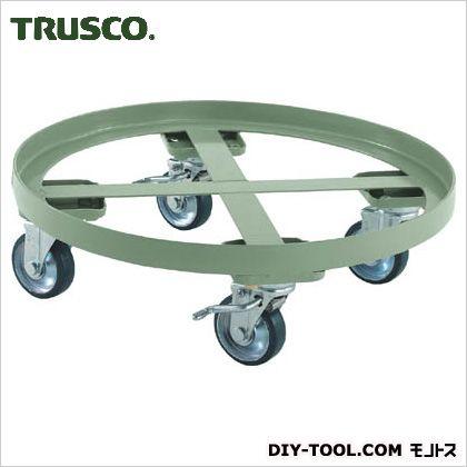 トラスコ ストッパー付円形台車  RC300S