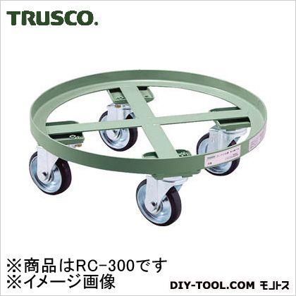 トラスコ 円形台車全周ガイド 荷重300kg 台寸φ610 RC300
