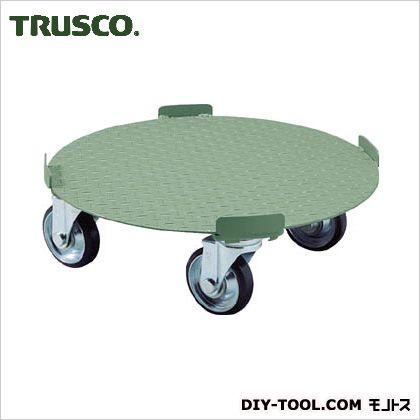 トラスコ 円形台車4点ガイド 荷重500kg 台寸φ610 RB500