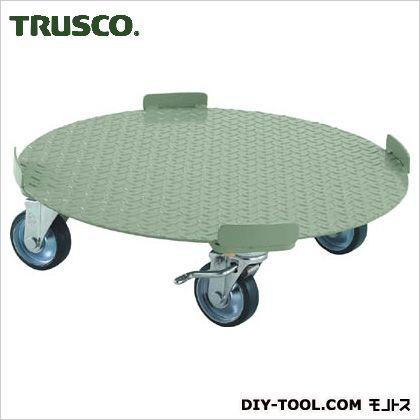 トラスコ ストッパー付円形台車  RB300S