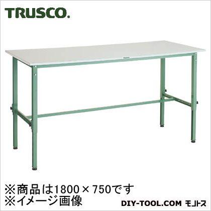 トラスコ(TRUSCO) RAEM型高さ調節作業台1800X750 RAEM1800