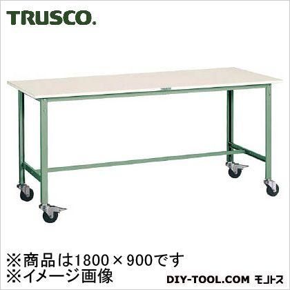 トラスコ(TRUSCO) RAE型作業台1800X900Φ100キャスター付 RAE-1809C100