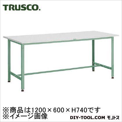 トラスコ AE型作業台リノリューム天板 1200×600×740  RAE1260