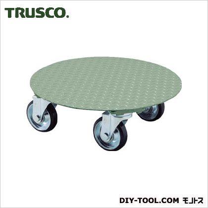 トラスコ 円形台車平置型 荷重500kg 台寸φ552 RA500