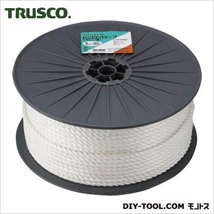 トラスコ ビニロンロープ ボビン巻 9mm×150m R9150