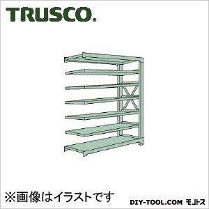 トラスコ R3型ボルト式中量棚 連結7段 1800×900×H2400 R38697B
