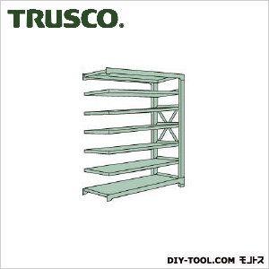 トラスコ R3型ボルト式中量棚 連結7段 1500×600×H2400 R38567B