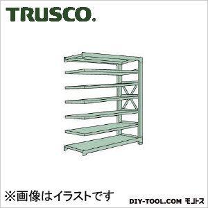 トラスコ R3型ボルト式中量棚 連結7段 900×450×H2400 R38357B