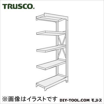 トラスコ R3型ボルト式中量棚 連結5段 1800×900×H2100 R37695B