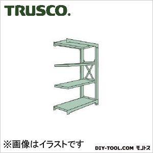 トラスコ R3型ボルト式中量棚 連結4段 1800×450×H1800 R36654B