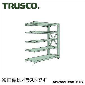 トラスコ(TRUSCO) R3型中量棚1500X450XH18005段連結 R36555B 1S