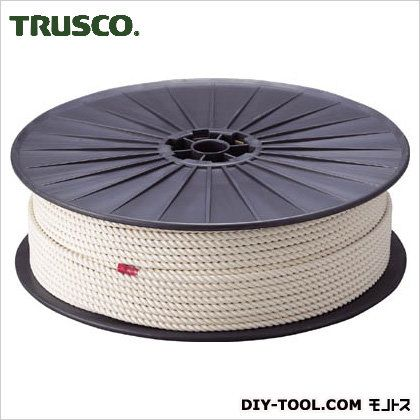 トラスコ 綿ロープボビン巻 12mm×100m R12100M