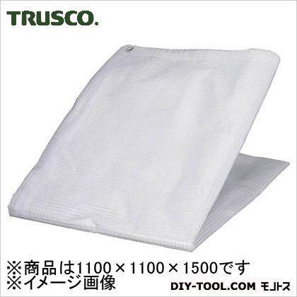 TRUSCO パレットカバー1100X1100X1500クリア PC-11B