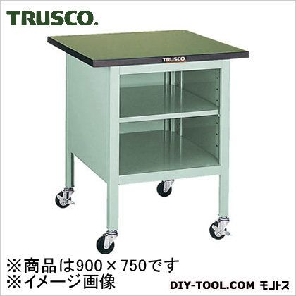 トラスコ 小型作業台棚板付 900×750×810 OWC9075B