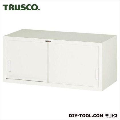 トラスコ(TRUSCO) スタンダード書庫(D400)スチール引違880XH390 N103D