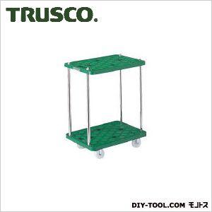 トラスコ(TRUSCO) 樹脂製台車ルートバン2段式600X400 605 x 146 x 417 mm MP602