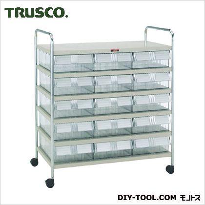 トラスコ(TRUSCO) MLワゴンML-2NX15個H945タイプ 880 x 520 x 980 mm MLKH842