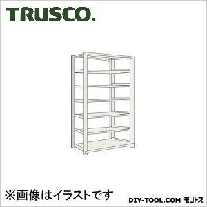 トラスコ M500kg型中量棚 単体 ネオグレー 1800×721×H2400 M58677