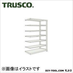 トラスコ M500kg型中量棚 連結 ネオグレー 1500×571×H2400 M58567B