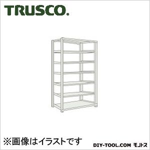 トラスコ M500kg型中量棚 単体 ネオグレー 1500×571×H2400 M58567