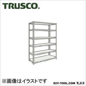 トラスコ M500kg型中量棚 単体 ネオグレー 1200×721×H2400 M58476