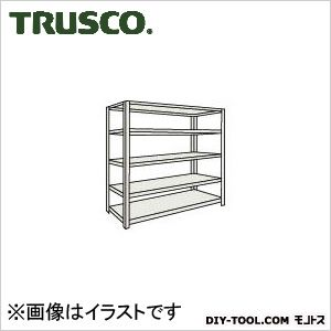 トラスコ M500kg型中量棚 単体 ネオグレー 1800×471×H2100 M57655