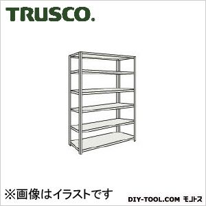 トラスコ M500kg型中量棚 単体 ネオグレー 1500×721×H2100 M57576