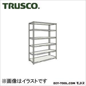 トラスコ M500kg型中量棚 単体 ネオグレー 1500×571×H2100 M57566