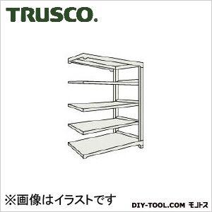 トラスコ(TRUSCO) M5型中量棚1200X571XH21005段連結ネオグレ NG M57465B 1台