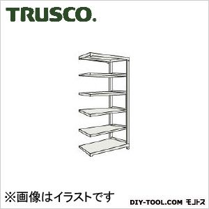トラスコ M500kg型中量棚 連結 ネオグレー 1200×471×H2100 M57456B