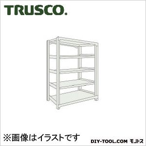 トラスコ M500kg型中量棚 単体 ネオグレー 900×921×H1800 M56395