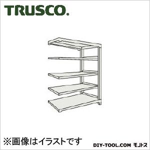 トラスコ(TRUSCO) M5型中量棚1200X471XH12005段連結ネオグレ NG M54455B 1台