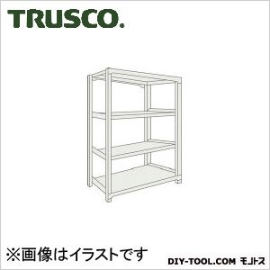 トラスコ M500kg型中量棚 単体 ネオグレー 900×921×H1200 M54394