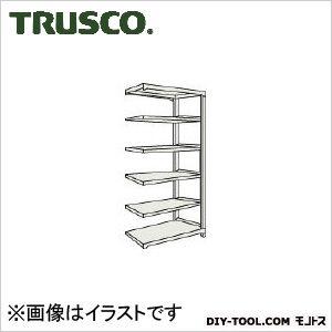 トラスコ(TRUSCO) M2型軽中量棚860X600XH21006段連結ネオグレ NG M27366B 1台