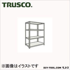 トラスコ(TRUSCO) M2型軽中量棚860X300XH15004段単体ネオグレ NG M25334 1台