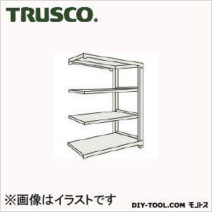 トラスコ(TRUSCO) M2型軽中量棚860X450XH12004段連結ネオグレ NG M24344B 1台