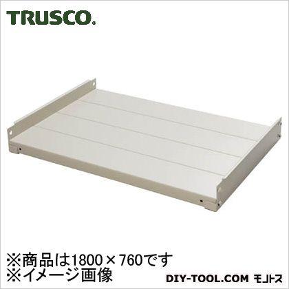 TRUSCO M10型棚用棚板1800X760中受付ネオグレ NG M10-T67S 1台