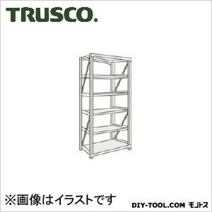 トラスコ(TRUSCO) M10型重量棚1500X900XH21005段単体ネオグレ NG 900 x 2100 x 350 mm M107595 1台