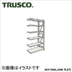 トラスコ M10型1トン重量棚 連結 ネオグレー 900×900×H2100 M107396B