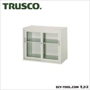 トラスコ 電気亜鉛メッキH720ガラス引違工具保管庫  TZJ7