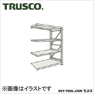 トラスコ(TRUSCO) M10型重量棚1500X900XH18004段連結ネオグレ NG 900 x 1800 x 300 mm M106594B 1台